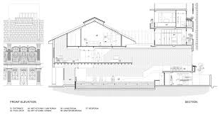shop house floor plans pool shophouse renovation project by farm and kd architects 15