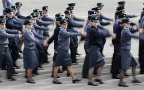 women in the raf no longer allowed to wear skirts on parade