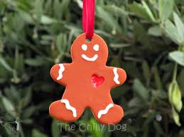 tutorial clay gingerbread ornaments the chilly