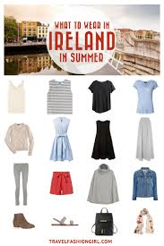 what to wear in ireland packing list ideas for dublin packing