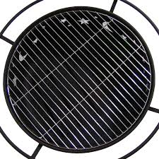 Firepit Grille by Sunnydaze Cosmic Fire Pit With Grill U0026 Spark Screen