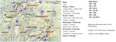 map salt lake city to denver location of venture compound white and quizboy u0027s map venturebros