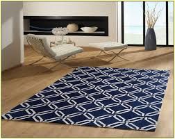 Blue And White Area Rugs Navy And White Area Rug Home Design Ideas