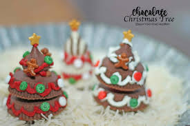 make your own chocolate christmas tree decorations christmas