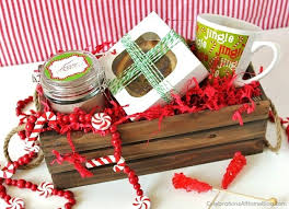 christmas basket ideas sweet christmas gifts celebrations at home
