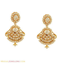 gold earrings design with weight light weight gold earrings designs online at best price in india