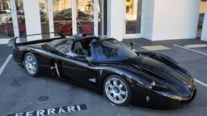 maserati mc12 blue the only black maserati mc12 up for grabs in california