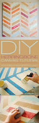 Craftaholics Anonymous Diy Toy Box With Herringbone Design by Diy Geometric Painting With Tape Ideas Geometric Painting