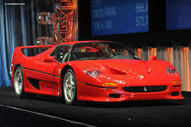 1995 f50 price auction results and sales data for 1995 f50