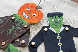 Halloween Arts Crafts by That Artist Woman Halloween Jumping Jacks