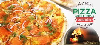 cuisine pizza ร ว ว pizza aroy พ ซซ าฟ ดทร คอบเตาถ านแป งบางเคร องเยอะฉบ บออร จ