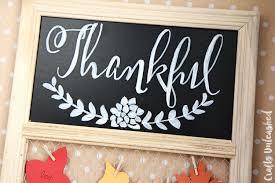 diy thanksgiving project thankful wall display consumer crafts