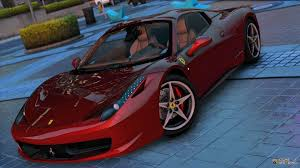 ferrari 458 back ferrari 458 spider 2013 1 31 for gta 5