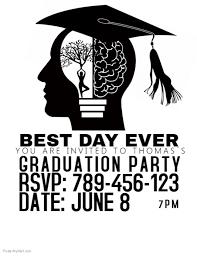 graduation flyer template large size of designs free graduation