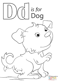 dog coloring pages online letter d is for dog coloring page free printable coloring pages