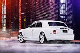 rolls royce white phantom picture rolls royce phantom luxury white back view automobile