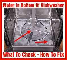 Bosch Dishwasher Water Inlet Filter Water In Bottom Of Dishwasher How To Fix Removeandreplace Com