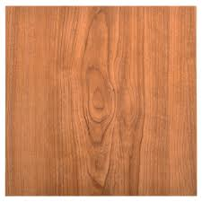 peel and stick vinyl tile in walnut wood grain look laminate tile