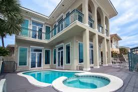Luxury Vacation Homes Destin Florida Paradis Beachfront Vacation Rental In Destin Miramar Beach