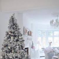 white ornaments tree decore