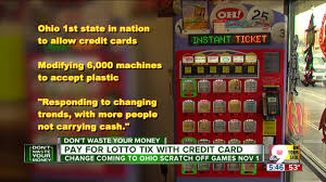 ohio lotto to accept credit cards is this good wcpo cincinnati oh