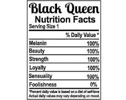 blank nutrition facts template apparel labels etsy