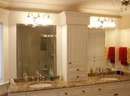 bathroom best lighted bathroom vanity mirror with black frame