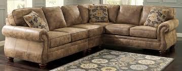 Ashley Furniture 3 Piece Sectional Ashley Furniture Sectionals 3piece Sleek Lined Alloy Sectional