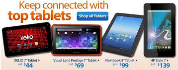 walmart android tablet exec suggests hardware partners need to improve lackluster