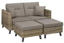 Loveseat Ottoman Outdoor Futon Loveseat Sofa Bed Monterey The Futon Shop