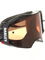 goggles motocross oakley jet black prizm bronze airbrake mx goggle oakley