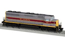 erie lackawanna legacy sd45 diesel locomotive