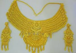 gold necklace design sets images Indian jewellery design 2016 gold plated necklace set indian jpg