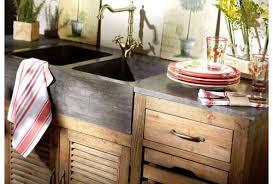meuble cuisine bois meubles cuisine bois massif meuble de en alinea newsindo co