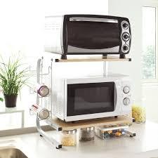 etagere rangement cuisine sobuy frg092 n meuble rangement cuisine de service en bois étagère