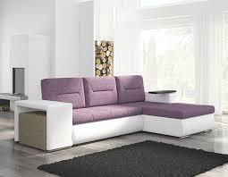 canap d angle pouf canape d angle violet et blanc avec pouf canapé design canapé