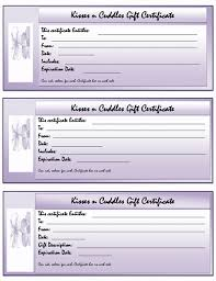 5 gift certificate templates free letter template word