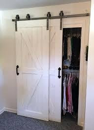 Closet Barn Doors Best 25 Barn Door Closet Ideas On Pinterest Bathroom Barn Door