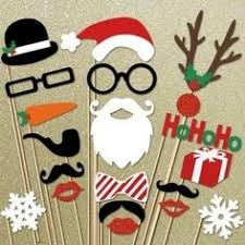 Photo Booth Prop Ideas Christmas Photo Booth Christmas Party Idea Photo Booth Props By