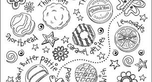 scout cookie sale coloring pages archives cool coloring
