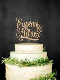 wedding cake name chic personalized wedding cakes personalized wedding cake topper