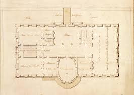 White House First Floor Plan File State Floor Plan White House 1803 Jpg Wikimedia Commons