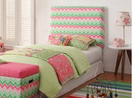 pink tufted headboard twin home design ideas