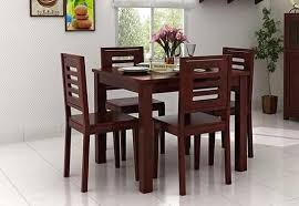 4 Seat Dining Table And Chairs 4 Seater Dining Table Set Dining Table Four Seater Set