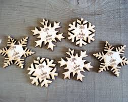 winter wedding favors snowflake ornaments unique wedding