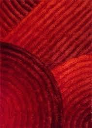 Afro Shag Rug Modern Contemporary Shag Shaggy Dark Blue Light Blue Red Black