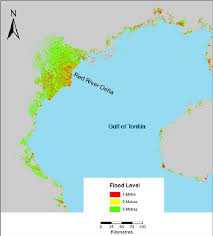 Map Vietnam Flood Risk Map Of The North Coast Of Vietnam Figure 3 Of 3