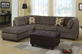 Sectional Sofa Radford Ash Reversible Microfiber Sectional Sofa Steal A Sofa