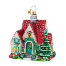 christopher radko ornaments 2016 radko perfect cottage ornament