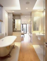 bathroom design bathroom long narrow bathroom glass partition